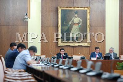 2016 оны долоодугаар сарын 29. Засгийн газрын гишүүнээр нэр дэвшигчдийг томилох, дэд хороодын дарга нарыг томилох, Монгол банкны дэд Ерөнхийлөгчийг чөлөөлөх,  СЗХ-ны дарга нарыг тус тус томилох асуудлыг хэлэлцэж байна.        ГЭРЭЛ ЗУРГИЙГ Б.БЯМБА-ОЧИР/MPA