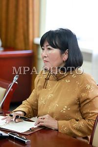 2016 оны долоодугаар сарын 29.  Эрүүл мэдийн сайдад нэр дэвшигч А.Цогцэцэг. Засгийн газрын гишүүнээр нэр дэвшигчдийг томилох, дэд хороодын дарга нарыг томилох, Монгол банкны дэд Ерөнхийлөгчийг чөлөөлөх,  СЗХ-ны дарга нарыг тус тус томилох асуудлыг хэлэлцэж байна.        ГЭРЭЛ ЗУРГИЙГ Б.БЯМБА-ОЧИР/MPA