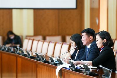 2020 оны хоёрдугаар  сарын 07. УИХ-ын төрийн байгуулалтын байнгын хороо намрын ээлжит чуулганы хугацаанд хийсэн болон бүрэн эрхийн үлдэж буй хугацаанд хэрэгжүүлэх ажлынхаа талаар мэдээлэл хийлээ.   ГЭРЭЛ ЗУРГИЙГ Б.БЯМБА-ОЧИР/MPA