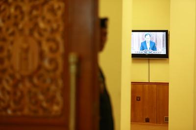 2018 оны зургаадугаар сарын 08.  УИХ-ын чуулганы хуралдаанаар УИХ-ын гишүүн Д.Гантулга, Д.Мурат нарын бүрэн эрхийг түдгэлзүүлэх тухай Ерөнхий прокурорын ирүүлсэн саналыг хэлэлцэв.  ГЭРЭЛ ЗУРГИЙГ Б.БЯМБА-ОЧИР/MPA