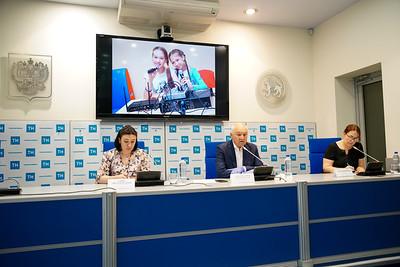 10.07.2020 - «Милләтебез хәзинәләре» онлайн сменасына багышланган матбугат конференциясе (фото Салават Камалетдинов)