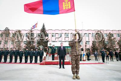 2019 оны дөрөвдүгээр сарын 08. Монгол Улсын Зэвсэгт хүчний IX ээлжийн цэргийн багийн бие бүрэлдэхүүн Жанжин туганд хүндэтгэл үзүүлэв. ГЭРЭЛ ЗУРГИЙГ Г.ӨНӨБОЛД /MPA