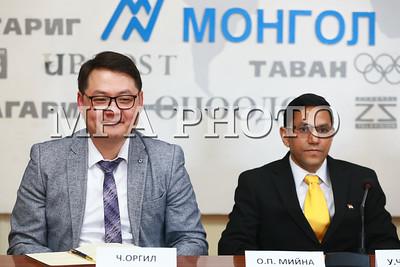 2019 оны тавдугаар сарын 08.                                                      Монгол Улсад газрын тос боловсруулах үйлдвэр байгуулах гэж буйтай холбогдуулан БНЭС-ун Элчин сайдын яамнаас санаачилж, Монгол-Энэтхэгийн газрын тос, байгалийн хийн компаниудын үзэсгэлэнг энэ сарын 12-14-нд Буян-Ухаа спорт цогцолборт анх удаа зохион байгуулах гэж байна.  Үзэсгэлэнд БНЭУ-ын газрын тос, байгалийн хийн 35 компани оролцохоор төлөвлөжээ.                                            ГЭРЭЛ ЗУРГИЙГ Б.БЯМБА-ОЧИР/MPA