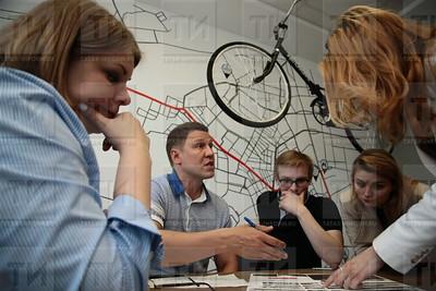 Проекты благоустройства Московского района, выполненные студентами архитекторами. Фото: Николай Александров