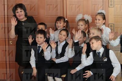 Альбина Ваганова, гимназия №8, Урок татарского языка, Татар теле дәресе