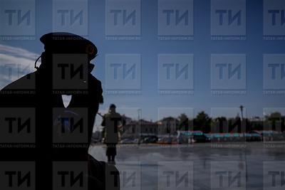РОССИЯ. КАЗАНЬ. 02.08.2018 - Праздничный митинг по случаю празднования дня ВДВ в Парке Горького  (фото: Ильнар Тухбатов/ ИА Татар-Информ)