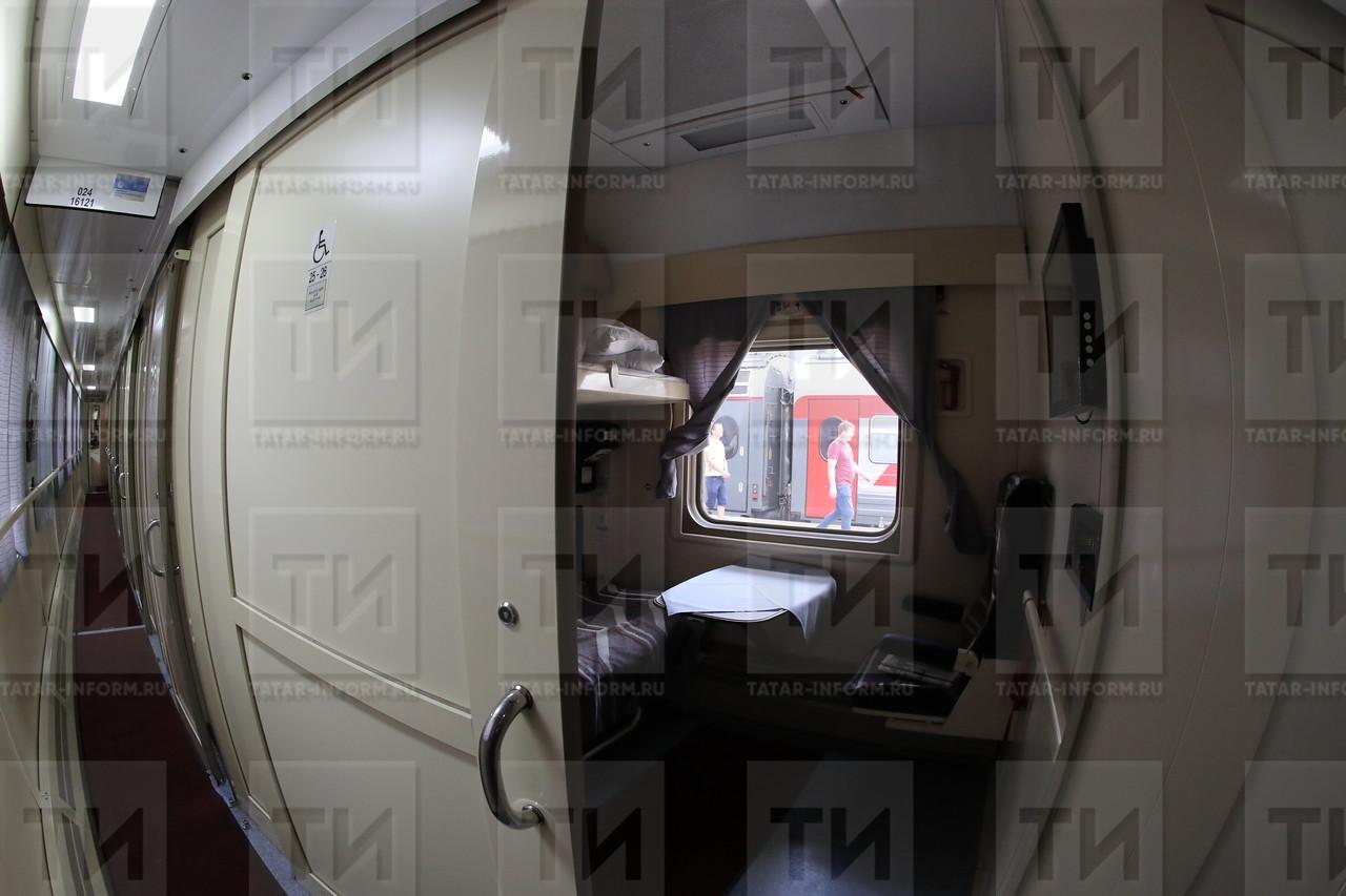 11.07.2017 Презентация нового передвижного состава Казань-Санкт-Петербург фото Рамиля Гали