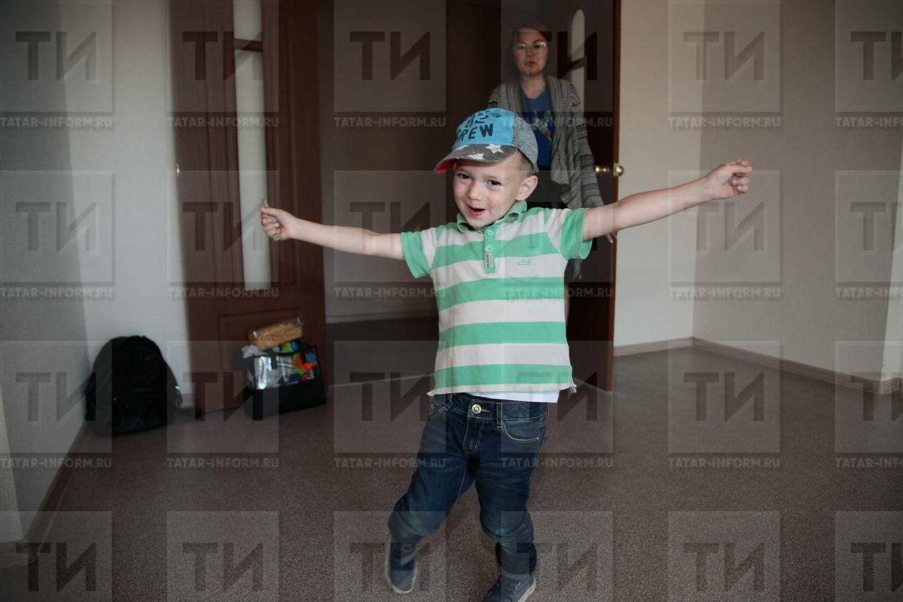 "13.07.2017. Заселение 225-квартирного жилого дома в микрорайоне ""М14"". Фото: Николай Александров"