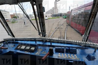 14.06.2017 Запуск экскурсионного трамвая фото Рамиля Гали
