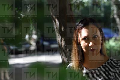 14.08.17 Интервью с матерью абитуриентки ( фото : Михаил Захаров / ИА ТатарИнформ )