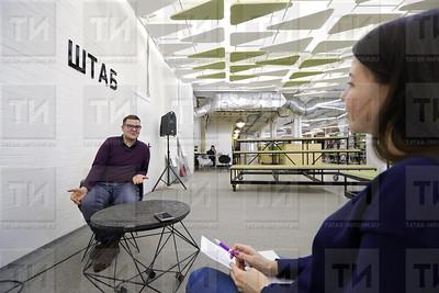 14.12.2017  - Интервью с участником Битвы креативных менеджеров Виталием Каретниковым (фото Салават Камалетдинов)