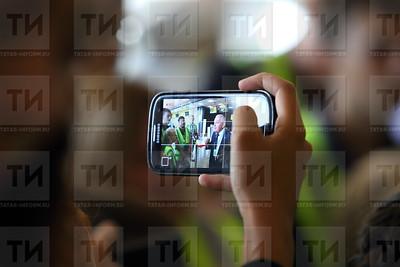 17.08.17 Детская экскурсия в аэропорт Казань (фото: Михаил Захаров / ИА Татар-Информ )
