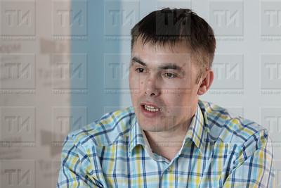 КАЗАНЬ. 24.04.2018 - Интервью Айгиз Баймухамметов (фото: Ильнар Тухбатов/ ИА Татар-Информ)