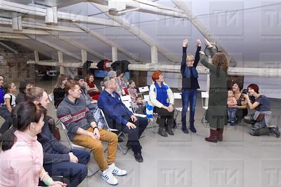 24.12.2017  -Встреча - мастер класс с Валерией Мещеряковой (фото Салават Камалетдинов)