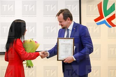 27.12.2017  - Награждение журналистов на итоговой пресс-конференции минздрава РТ (фото Салават Камалетдинов)