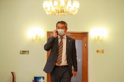 2020 оны арванхоёрдугаар сарын 16. УИХ-ын гишүүн Ц.Мөнх-Оргил ОУПХ-ны асуудлаар мэдээлэл хийлээ.    ГЭРЭЛ ЗУРГИЙГ Б.БЯМБА-ОЧИР/MPA