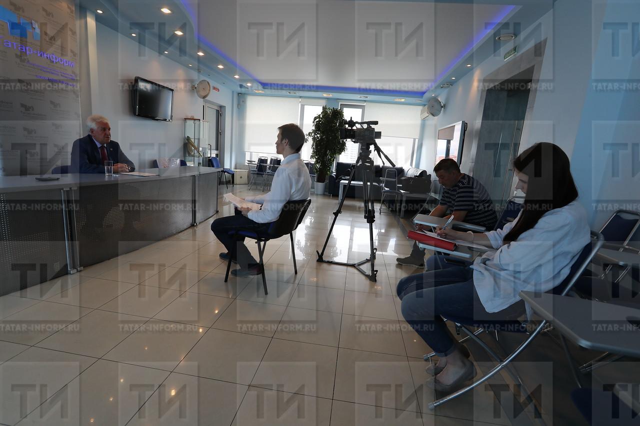 07.07.2017 Директор филиала РТРС в РТ Владимир Якимов фото Рамиля Гали