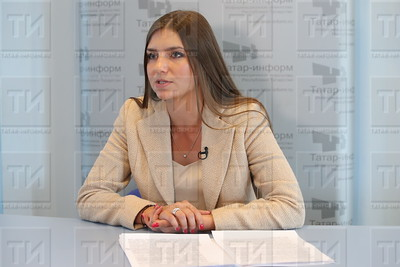 Дина Гайзатуллина генеральный директор «Республиканского кадастрового центра (РКЦ) «Земля»