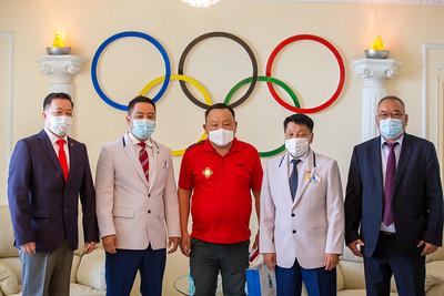 2021 оны зургадугаар сарын 23.     Олон Улсын олимпийн өдөр.  ГЭРЭЛ ЗУРГИЙГ Б.БЯМБА-ОЧИР/MPA