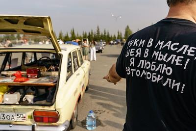 13.08.2021 - Открытие XIV международного фестиваля исторической техники (Салават Камалетдинов )