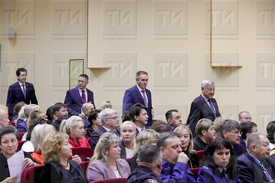 19.09.2019  - XLVI  сессия Совета Елабужского района РТ (фото Салават Камалетдинов)