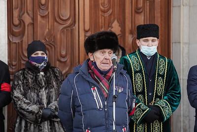14.12.2020 - Прощание с актером Камаловского театра Айдаром Хафизовым (фото Салават Камалетдинов)