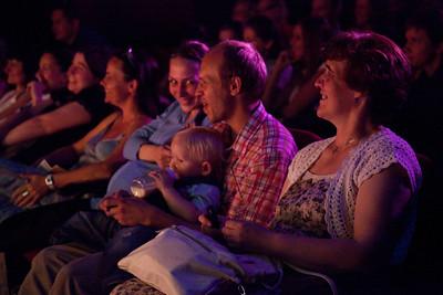 Разновозрастные зрители - все свои :).