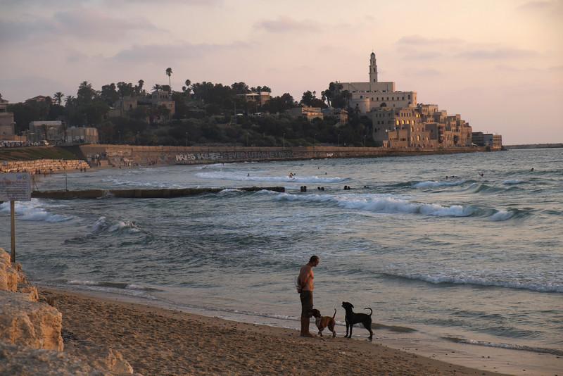 Вид на старый Яффо, Тель-Авив, июль 2013