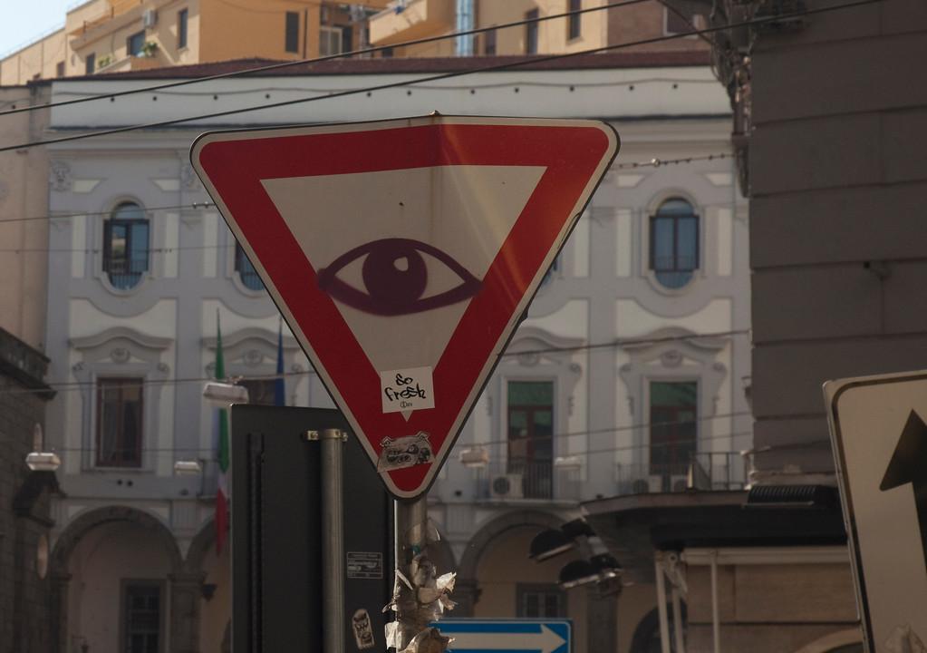 В Неаполе.