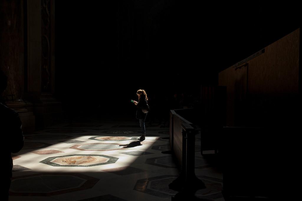 Рим, в Соборе Св. Петра.