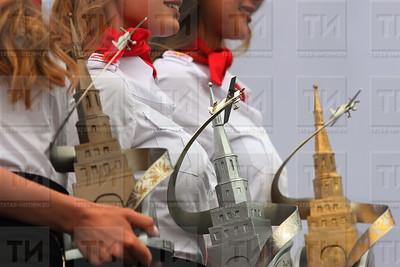 Россия, Казань Ринг, 23.07.17, награждения Red Bull Air Racing  (фото: Михаил Захаров / ИА Татар-Информ)