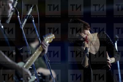 Россия. Казань. 21.12.2017 - Чествование волейболистов ВК Зенит-Казань (фото: Ильнар Тухбатов/ ИА Татар-Информ) Диляра Вагапова