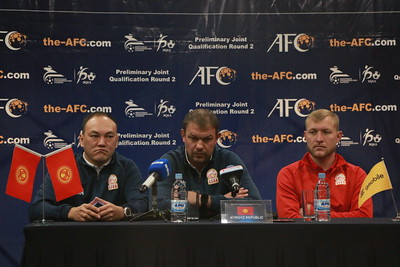 2019 оны аравдугаар сарын 14. ДАШТ-ийн урьдчилсан шатны Монгол, Киргизийн багийн тоглолтын талаар мэдээлэл хийлээ. ГЭРЭЛ ЗУРГИЙГ Г.БАЗАРРАГЧАА/MPA