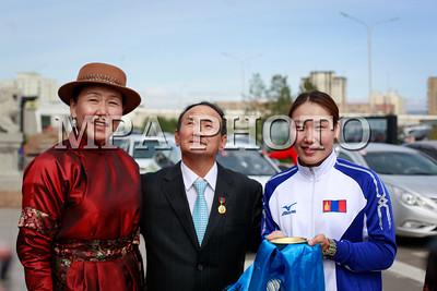 2017 есдүгээр сарын 07.  Монгол Улсын жүдогийн шигшээ багийнхан хэвлэлийн хурал хийлээ.  ГЭРЭЛ ЗУРГИЙГ Б.БЯМБА-ОЧИР/MPA