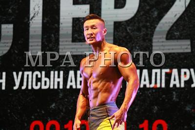 """2019 оны нэгдүгээр сарын 12. """"МОНГОЛЫН МИСТЕР 2019"""" улсын аварга шалгаруулах 28 дахь удаагийн тэмцээн. ГЭРЭЛ ЗУРГИЙГ Г.БАЗАРРАГЧАА /MPA/"""