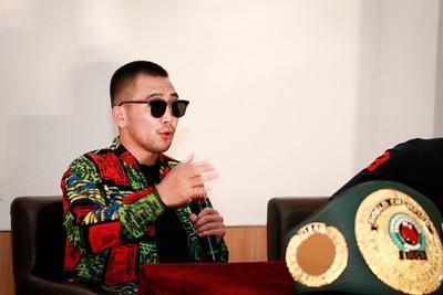 2019 зургаадугаар сарын 06. МУГТ Н.Төгсцогт WBC бүсийн аваргын төлөө хийх тулааны талаар мэдээлэл хийлээ. ГЭРЭЛ ЗУРГИЙГ Г.ӨНӨБОЛД /МРА