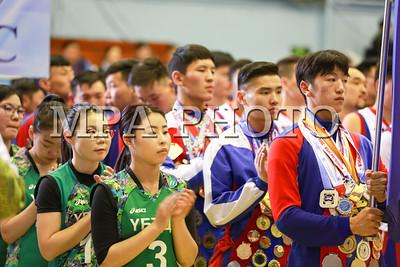"""2017 оны гуравдугаар сарын 27. Засгийн газраас дөрвөн жил тутамд нэг удаа хүүхдийн, оюутны, үндэсний, бүх ард түмний спортын их наадмыг зохион байгуулдаг уламжлалтай. Монгол Улсын """"Биеийн тамир спортын"""" тухай хуулийн 16.1 дэх заалтын дагуу Монголын Оюутны спортын """"Универсиад"""" IV их наадмыг 2017 онд үе шаттайгаар зохион байгуулахаар төлөвлөжээ. ГЭРЭЛ ЗУРГИЙГ Б.БЯМБА-ОЧИР/MPA"""