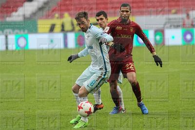 FC Rubin Kazan vs FC Zenit Saint Petersburg in Kazan - Russian Premier League