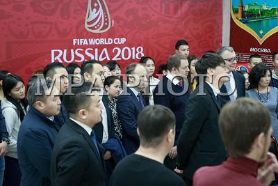 2018 оны дөрөвдүгээр сарын 02. 2018 оны Орос улсын 11 хотод зохион байгуулагдах ХДАШ /Хөл бөмбөгийн дэлхийн аврага шалгаруулах/ тэмцээнийг шууд дамжуулан үзүүлэх 700 суудалтай дэлгэц тавигдах талаар энэ нь хоёр улсын харилцаа холбооны хүрээнд гэрээ байгууллаа . ГЭРЭЛ ЗУРГИЙГ МРА