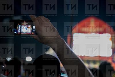 Россия. КАЗАНЬ. 19.06.2017 - Фан Фест наблюдал за игрой Россия - Египет (фото: Ильнар Тухбатов/ ИА Татар-Информ)