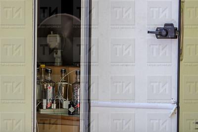Россия. КАЗАНЬ. 24.06.2018 - Стоянка автодомов болельщиков ЧМ2018  (фото: Ильнар Тухбатов/ ИА Татар-Информ)