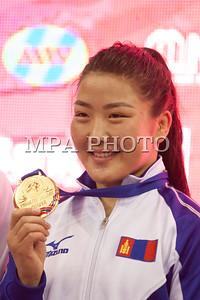 2017 оны нэгдүгээр сарын 08. Бөхийн чөлөөт барилдааны 2017 оны насанд хүрэгчдийн улсын аварга , шалгаруулах тэмцээн. 2017 оны чөлөөт бөхийн насанд хүрэгчдийн УАШТ-ий эмэгтэйчүүдийн 63кг-ийн шигшээд ОУХМ П.Орхон, дэлхийн хошой аварга, олимпийн хүрэл медальт С.Батцэцэгийг 13:2 оноогоор ялж алтан медаль хүртлээ.  ГЭРЭЛ ЗУРГИЙГ Б.БЯМБА-ОЧИР/MPA