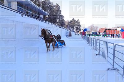 10.02.2018  - XXXVI Всероссийские массовые лыжные гонки «Лыжня России-2018» (фото Салават Камалетдинов)