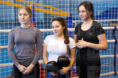 17.01.2018  - Секция бокса в Алькеевском районе  (фото Салават Камалетдинов)
