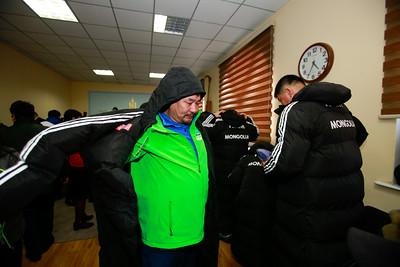 2020 оны нэгдүгээр сарын 06.Австри улсын Инсбрук хотноо ахмадын өвлийн олимпын III наадамд оролцох Монголын баг тамирчдаа үдэн гаргалаа. ГЭРЭЛ ЗУРГИЙГ Г.ӨНӨБОЛД/МРА