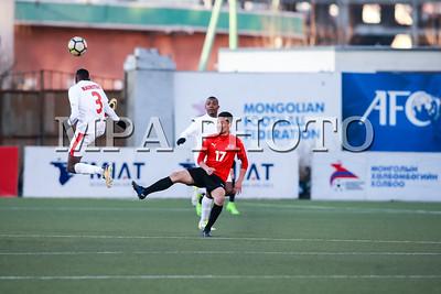 2018 оны гуравдугаар сарын 27. FIFA буюу Олон улсын хөлбөмбөгийн холбооны шигшээ багуудын нөхөрсөг тоглолтууд эдгээр өдрүүдэд ээлжлэн хотуудад зохиогдсоор байна. Монголын шигшээ өөрийн талбайдаа Африк тивийн төлөөлөл  Маврикийн багтай тоглож 0:2 харьцаагаар тоглолтоо дуусгалаа. ГЭРЭЛ ЗУРГИЙГ Б.БЯМБА-ОЧИР/MPA