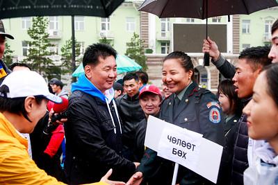 """2018 оны есдүгээр сарын 02. """"Хүчирхэг Монгол"""" спортын өдөрлөг . ГЭРЭЛ ЗУРГИЙГ /MPA"""