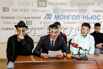 2017 оны гуравдугаар сарын 17. Монголын сагсан бөмбөгийн шигшээ багийн тамирчид Зүүн Азийн аварга шалгаруулах тэмцээнд оролцож чадахгүй болсонтой холбогдуулж мэдээлэл хийлээ.  ГЭРЭЛ ЗУРГИЙГ Г.БАЗАРРАГЧАА /MPA
