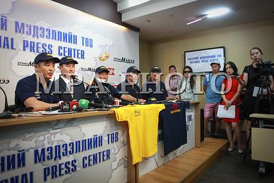2016 оны долоодугаар сарын 19. Олимпид явах баг тамирчдын хувцасыг танилцууллаа. ГЭРЭЛ ЗУРГИЙГ Г.ӨНӨБОЛД /МРА