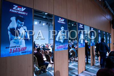 """2017 оны дөрөвдүгээр сарын 24. Асашёорү Д.Дагвадорж """"Zev fight night -1"""" мэргэжлийн тулаан зохион байгуулах талаар хэвлэлийн хурал хийлээ. ГЭРЭЛ ЗУРГИЙГ Г.БАЗАРРАГЧАА  /МРА"""